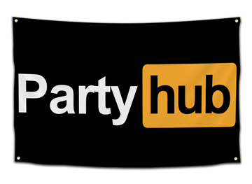 Party Hub Flag - CollegeWares