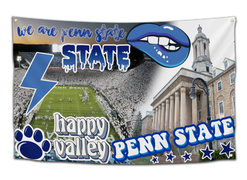 Penn State University Sticker Flag - CollegeWares
