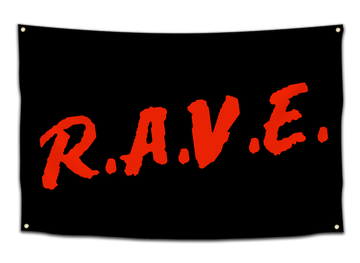 R.A.V.E. Flag - CollegeWares