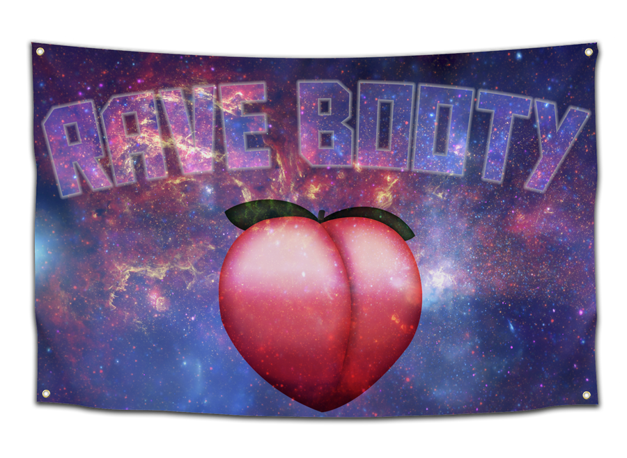 Rave Booty Flag - CollegeWares