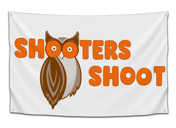 Shooters Shoot Flag - CollegeWares
