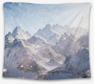 Snowy Mountain Tapestry - CollegeWares