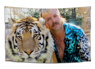 Tiger King Joe Exotic Flag - CollegeWares