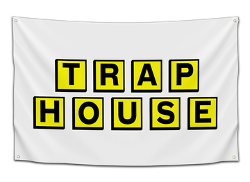 Trap House Flag - CollegeWares