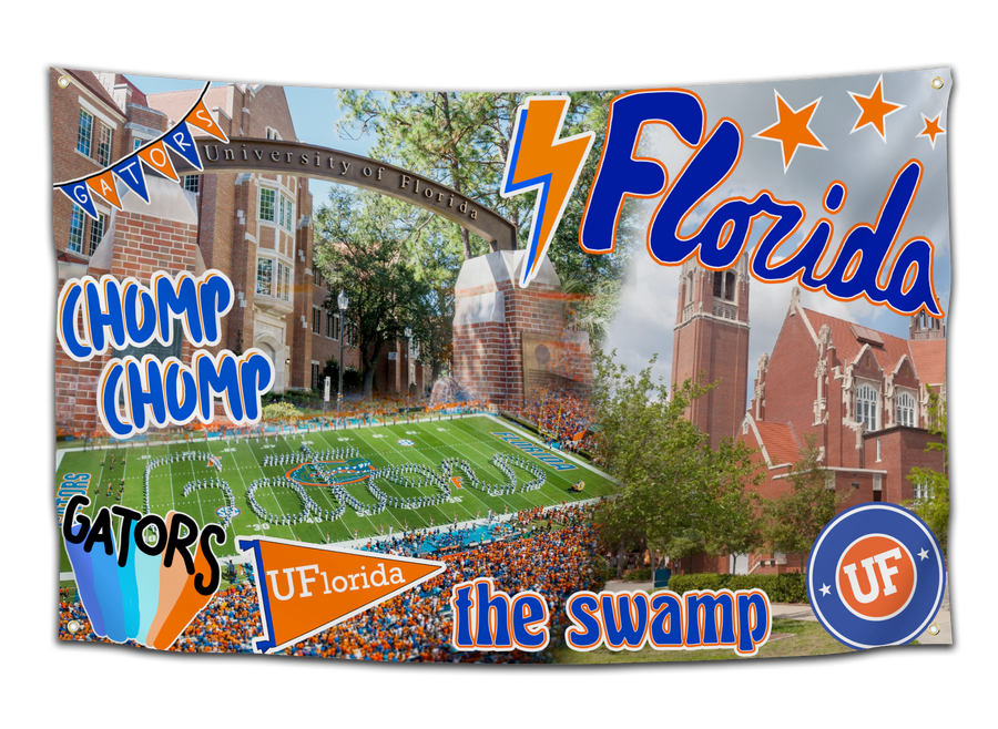 University of Florida Sticker Flag - CollegeWares