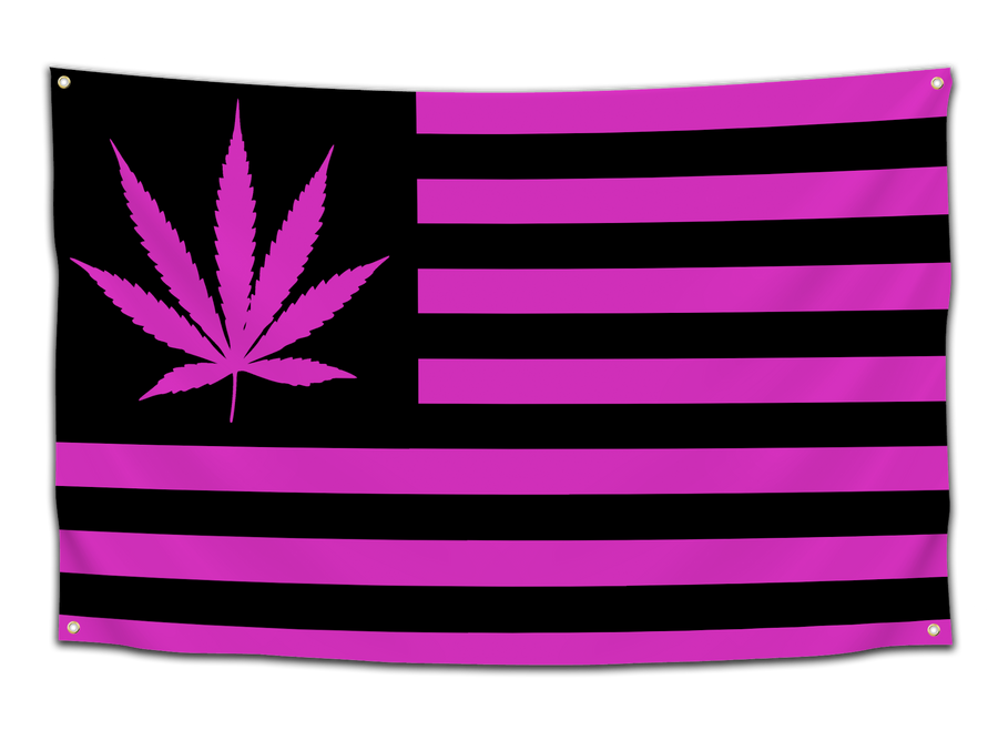 Weed America Flags - CollegeWares