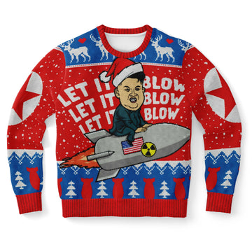 Let It Blow Sweatshirts