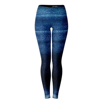 Blue Powder Leggings