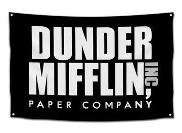 Dunder Mifflin Paper Company Flag - CollegeWares
