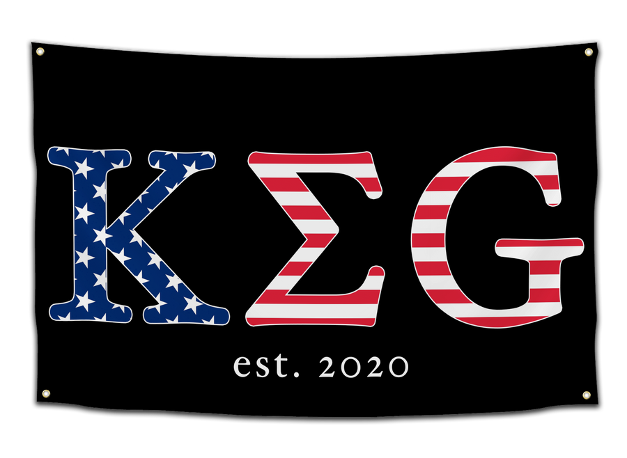 KEG Flag - CollegeWares