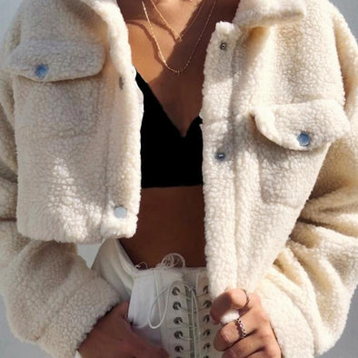 Cozy Cropped Jacket - Shop TeamSizz