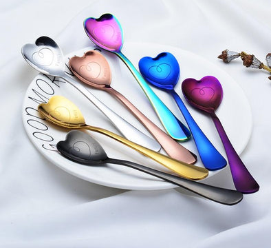 Heart Shaped Spoon - Shop TeamSizz