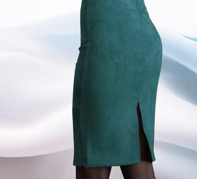 Suede Pencil Skirt - 13 Variants - Shop TeamSizz