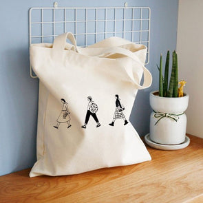 Cotton Vintage Reusable Bag - Shop TeamSizz