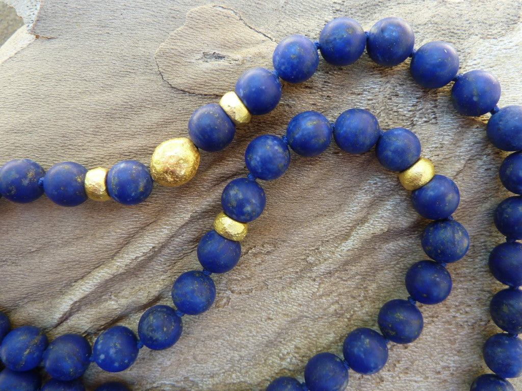 Roman glass with 18k gold accents
