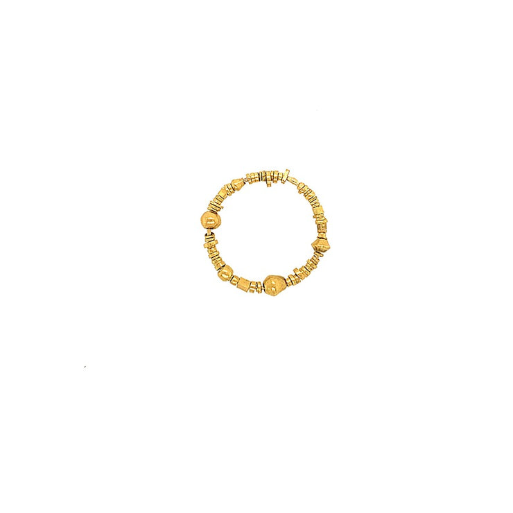 ELLEN HOFFMAN DESIGNS EXCAVATED HIGH-KARAT GOLD FROM PYU CITY STATES RING
