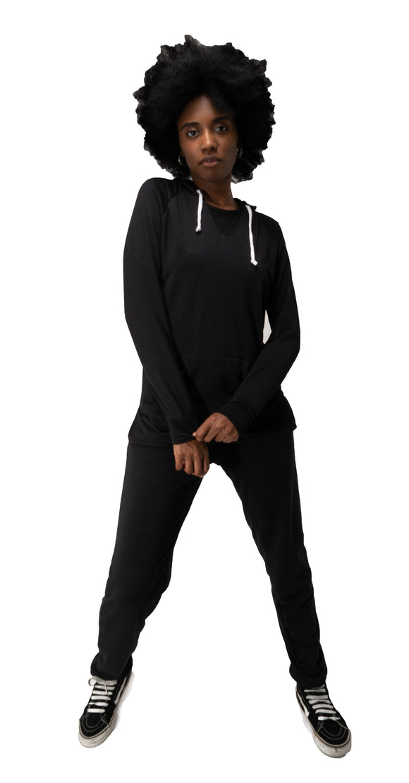 READY, SET, GO Joggers-Black