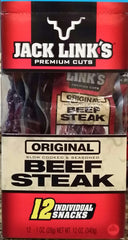 1oz Original  Beef Steak 12 Count Box