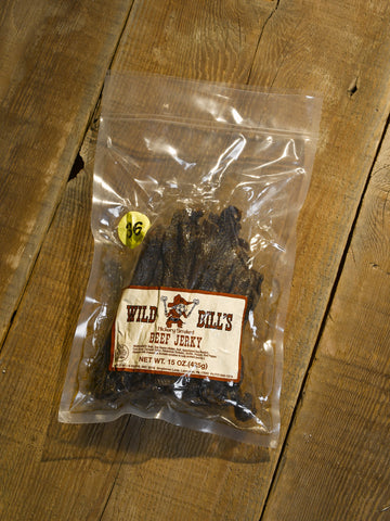 "Wild Bill's Hickory Smoked Beef Jerky ""36"" Count -15 0z. Package"