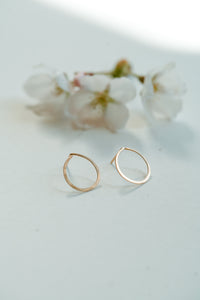 Circle Blossom Earring