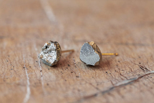 Pyrite Stud Earrings