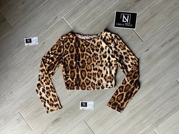 Cheetahilious Crop Top