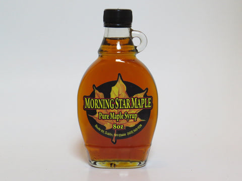 Pure New Hampshire Maple Syrup - 8 OZ. Glass Bottle