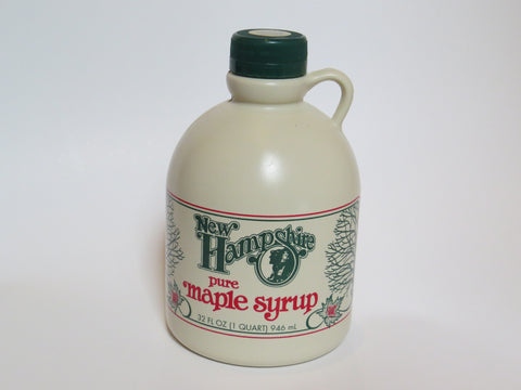 Pure New Hampshire Maple Syrup - Quart