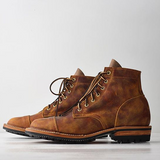 Goodyear Vintage Genuine Leather Ankle Boots