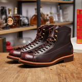 Top Quality Genuine Leather Luxury Motorycle Boots