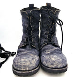 Men's Handmade Vintage  Leather Military Boots