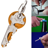 Stainless Steel Multi-Tool Key Chain
