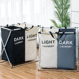 Printed X- Shape Laundry Hamper