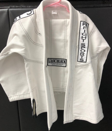Pitch Black Kids BJJ Uniform - Pitch Black Fight Shop
