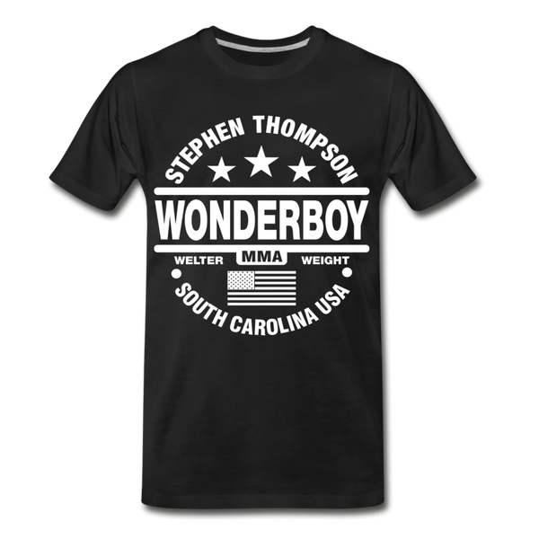 Wonderboy Circle Unisex T - Pitch Black Fight Shop