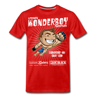 Wonderboy Toon Color Rush T - Pitch Black Fight Shop