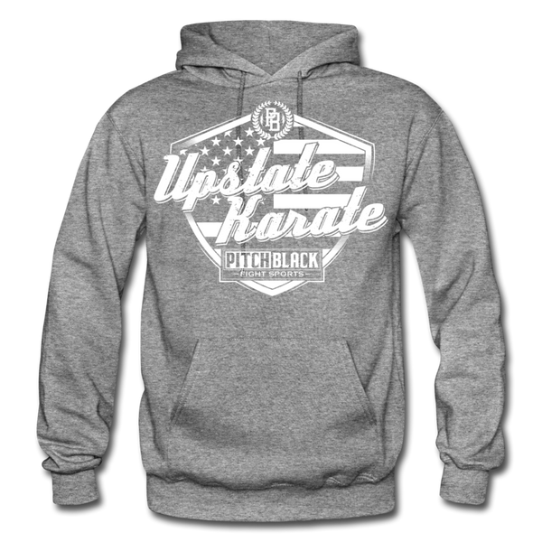 Upstate Karate Stars & Stripes Hoodie - Pitch Black Fight Shop