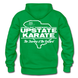 Upstate Karate SC Hoodie - Pitch Black Fight Shop