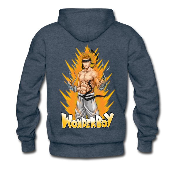 Wonderboy Powered Up Hoodie - Pitch Black Fight Shop