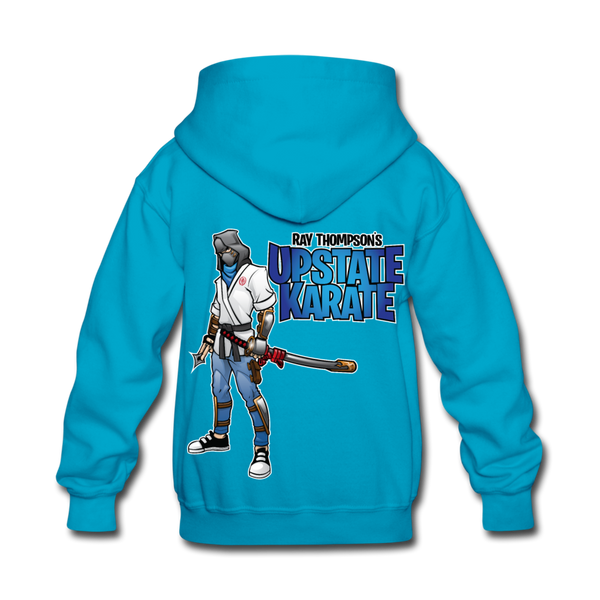 Video Game Ninja Kids' Hoodie - Pitch Black Fight Shop