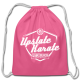 Upstate Karate Shield Drawstring Bag - Pitch Black Fight Shop