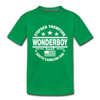 Wonderboy Circle Kids' Premium T-Shirt - Pitch Black Fight Shop