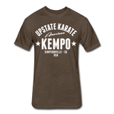 American Kempo T - heather espresso