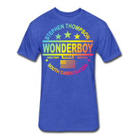 Wonderboy Color Fade T - heather royal
