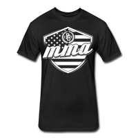 MMA Stars & Stripes T-Shirt by Next Level - black