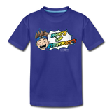 What's Up Everybody?! Wonderboy Kids' T - royal blue