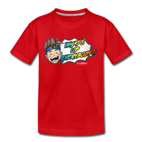 What's Up Everybody?! Wonderboy Kids' T - red