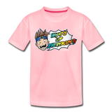 What's Up Everybody?! Wonderboy Kids' T - pink