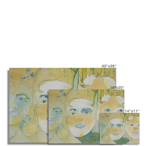 Three faces Fine Art Print