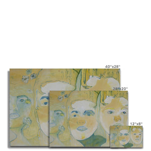 Three faces Canvas